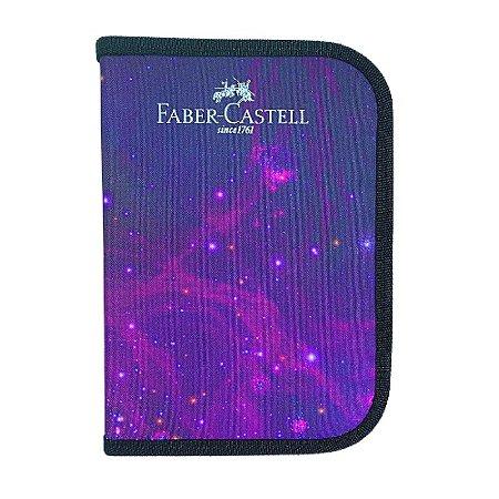 Kit Estojo Nylon Cosmic 19 peças Faber-Castell