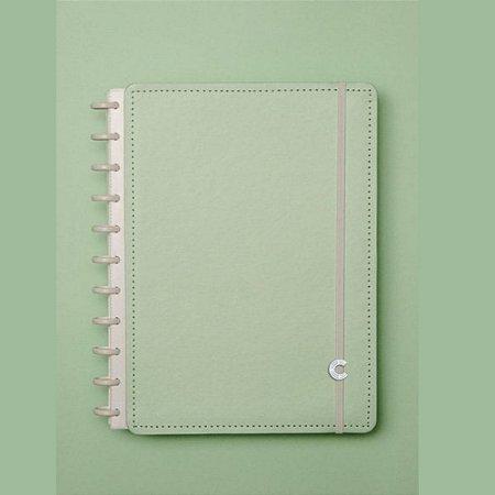 Caderno Inteligente Verde Pastel 80 Folhas