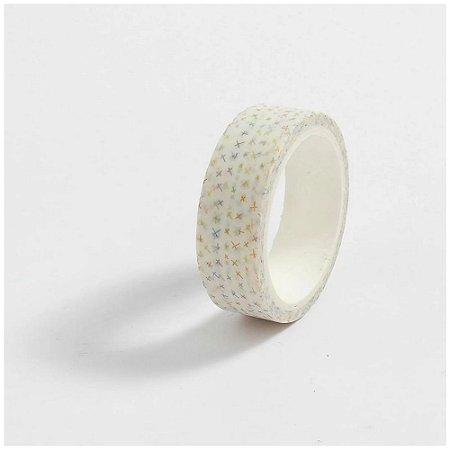 Washi Tape Detalhes Branco
