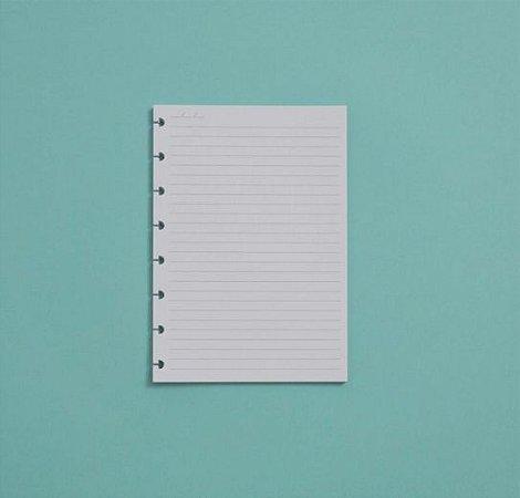 Refil Caderno Inteligente A5 Pautado 120g 30 Folhas