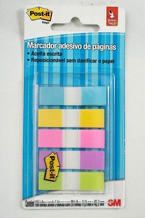 Marcador de Páginas Adesivo Post-it 100 Folhas