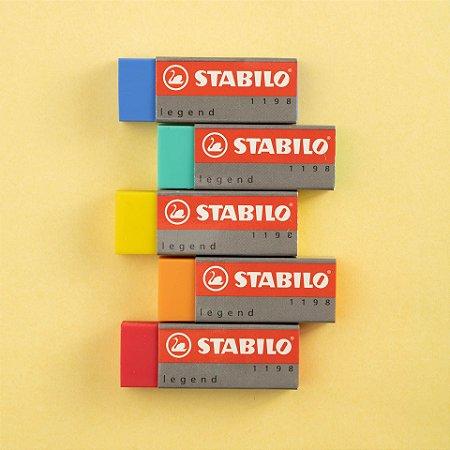 Borracha Stabilo Legend Colorida