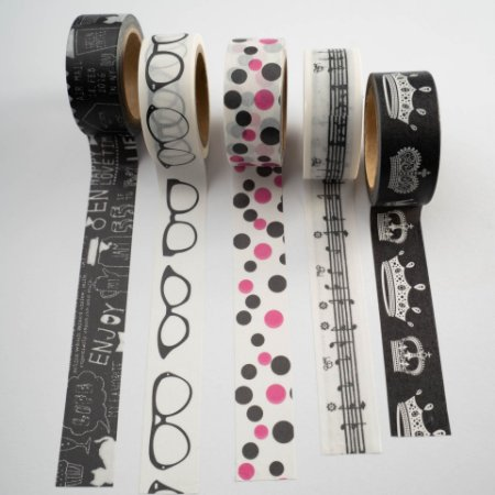 Washi Tape Young c/5 rolos