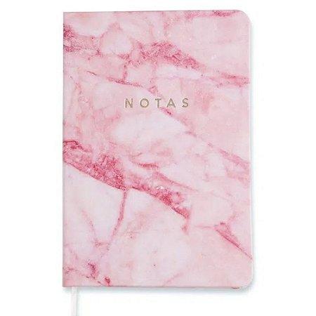 Caderneta Minerais Rosa Sem pauta 14x21cm Cicero