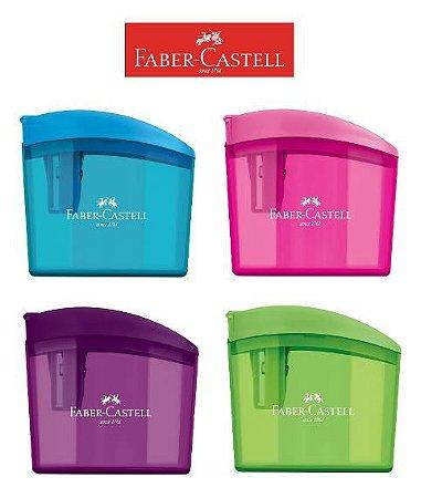 Apontador com Depósito ClickBox Faber-Castell
