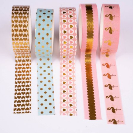 Washi Tape Decorada 2 Molin c/5un