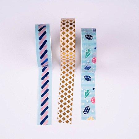 Washi Tape Decorada 4 Molin c/3un