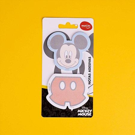 Bloco de Notas Adesivas Mickey c/2 Molin