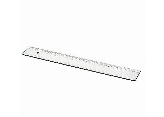 Régua Escolar Plástica Transparente 30cm Acrimet