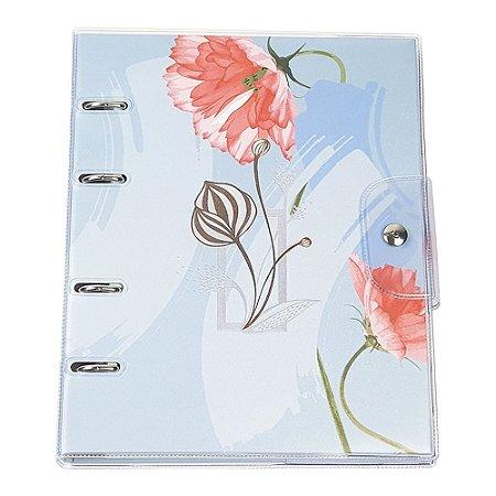 Caderno Argolado Ultra PVC La bela 6208-8 Ótima Gráfica