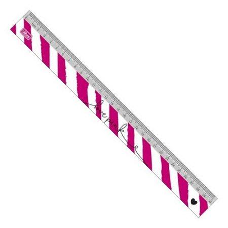 Régua Love Pink 30cm Tilibra