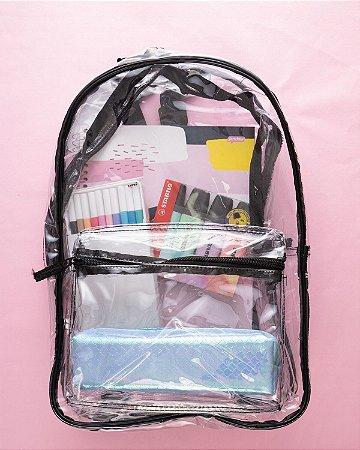 Mochila Escolar Transparente Kit 655312