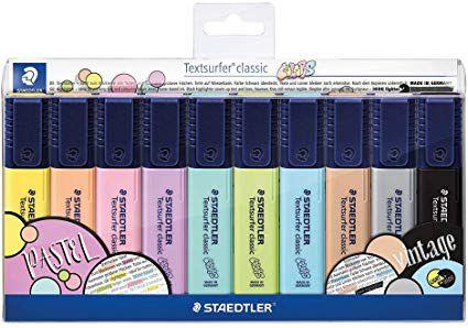Marca Texto Staedtler Textsurfer Estojo com 10 Cores