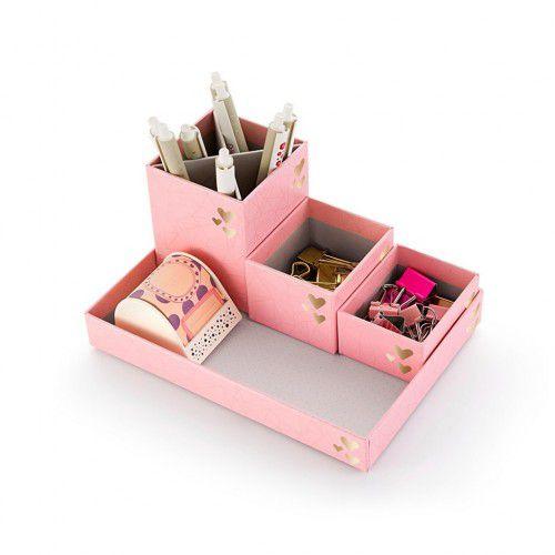 Kit organizador Pink Stone 4550-0 Ótima Gráfica