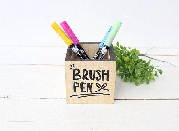 Porta Lápis 08x08 Brush Pen