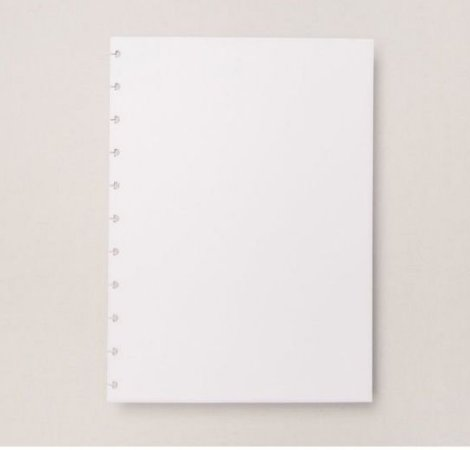Refil Caderno Inteligente Grande Branco 90g 30 Folhas
