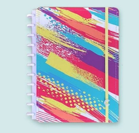 Caderno Inteligente Grande Tibum 80 Folhas