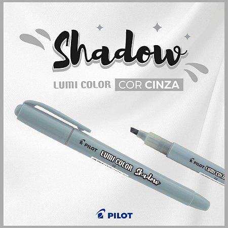 Caneta Marca Texto Lumi Color Shadow Cinza Pilot