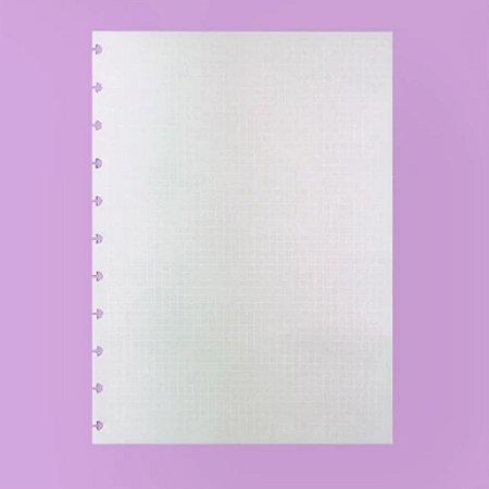 Refil Caderno Inteligente Quadriculado Linhas Brancas 90g 50 Folhas