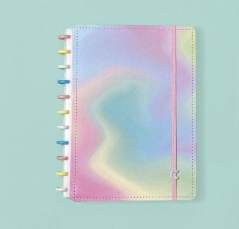 Caderno Inteligente Candy Splash 80 Folhas
