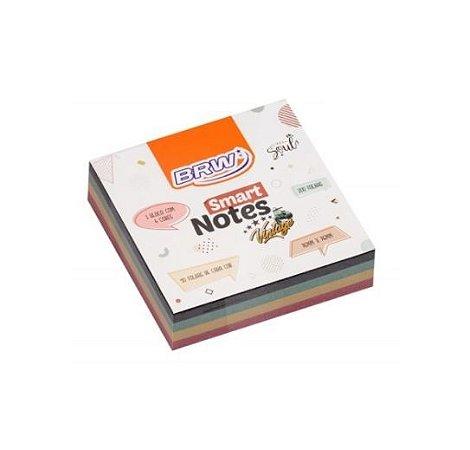 Bloco Adesivo Smart Notes 76x76mm 200 folhas BRW