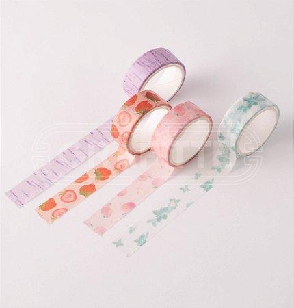 Washi Tape Decorada com Cheiro BRW