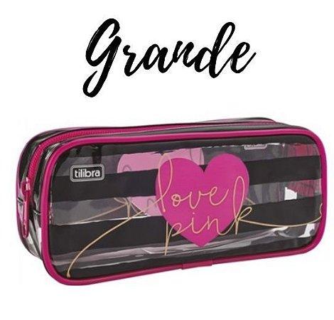 Estojo Love Pink Grande Tilibra 26122