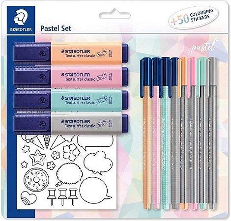 Kit Pastel Set 12 Peças Staedtler SBK1