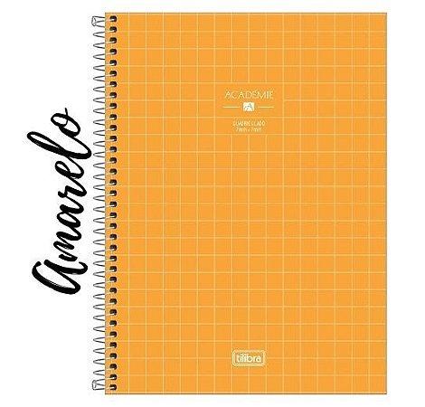 Caderno Quadriculado 7x7 mm Universitário Académie 96 Folhas Tilibra