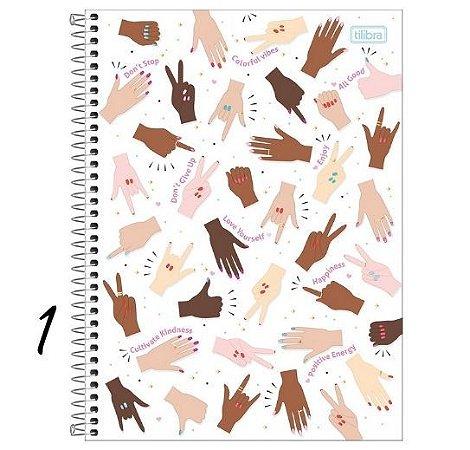Caderno Espiral Universitário 10 M Oh My God! 160 Folhas Tilibra