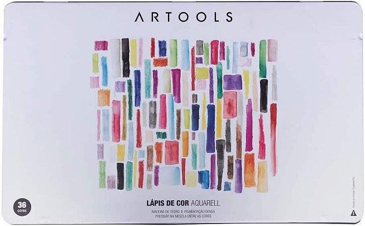Estojo Lápis de Cor Aquarell Artools 36 cores