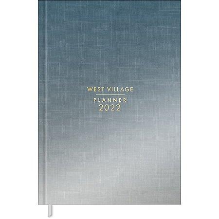 Planner Costurado West Village Metalizado 2022 17984