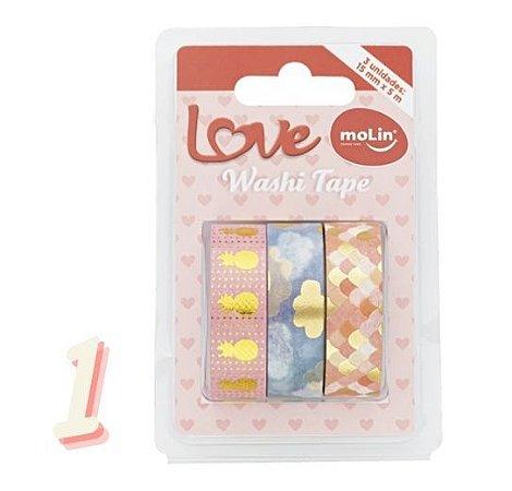 Kit Washi Tape Molin c/3