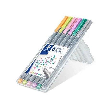 Estojo Caneta Fineliner My Pastel Colours Staedtler