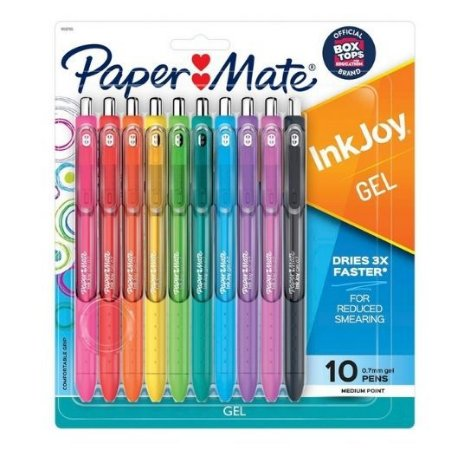 Estojo Caneta InkJoy RT 0.7 10C Paper Mate