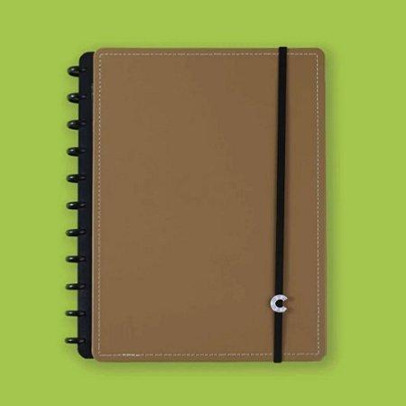 Caderno Inteligente Caramel 80 folhas