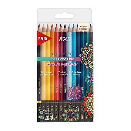 Lápis de Cor Vibes Tons Boho Chic TRIS