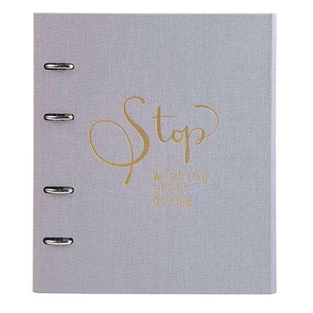 Caderno Ultra Cotton Lilás 9003-6 Ótima Gráfica