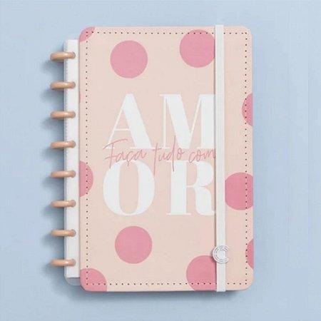 Caderno Inteligente By Uatt Cor de Rosa 80 Folhas