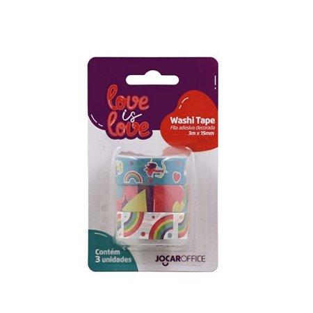 Washi Tape Love is Love - Arco Iris c/3un 79163