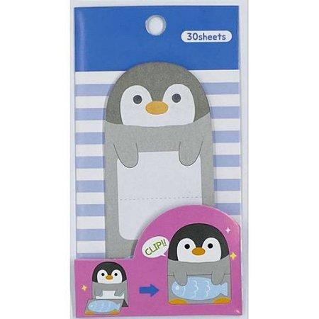 Bloco Adesivo Pinguim 30 folhas