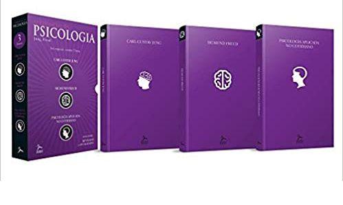 Box O Essencial da Psicologia - Caixa com 3 Volumes - Jung Freud Back Novo e Lacrado