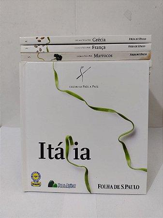 Coleção Cozinha País a País - Folha de S. Paulo C/22 Volumes