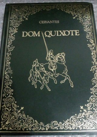 Dom Quixote - Miguel de Cervantes - Editora Abril Capa Dura