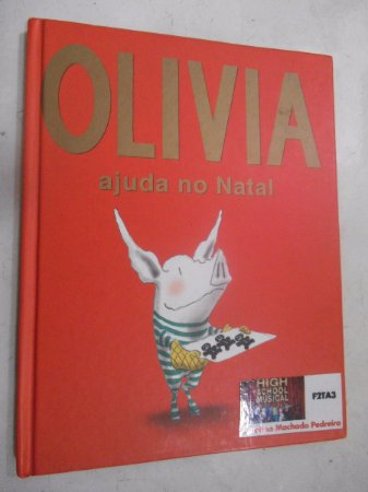 Olivia Ajuda No Natal - Ian Falconer