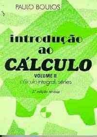 Introducao Ao Cálculo Vol. Ii - Paulo Boulos