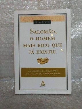 Salomão, o Homem Mais Rico que já Existiu - Steven K. Scott (marcas)
