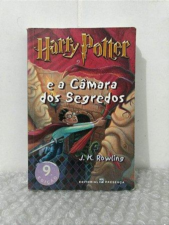 Harry Potter e a Câmara dos Segredos - J. K. Rowling edição de Portugal