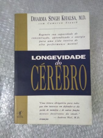 Longevidade do Cérebro - Dharma Singh Khalsa (marcas de uso)
