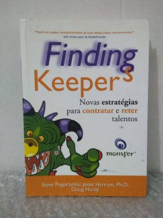 Finding Keepers - Steve Pogorzelski, Jesse Harriotti